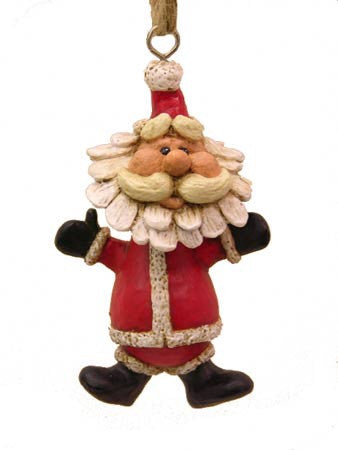 Dangly Santa Ornament