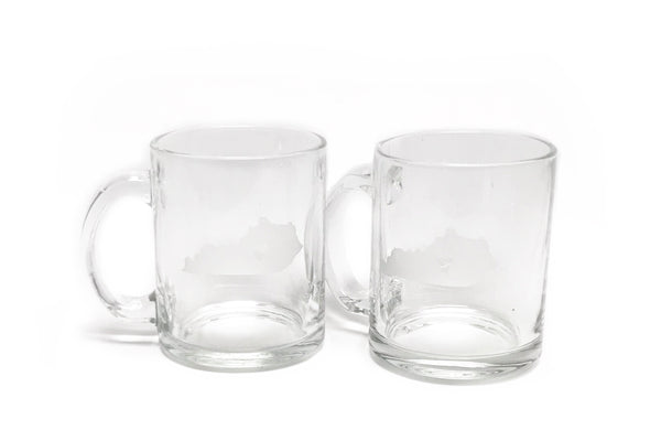 Kentucky Glass Mug Set