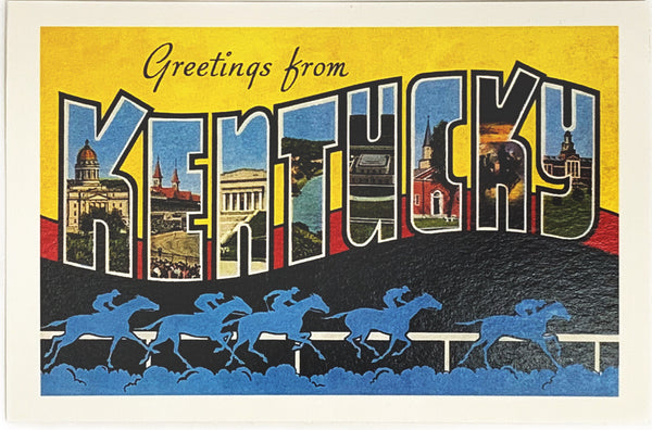 Greetings From Kentucky - Racing