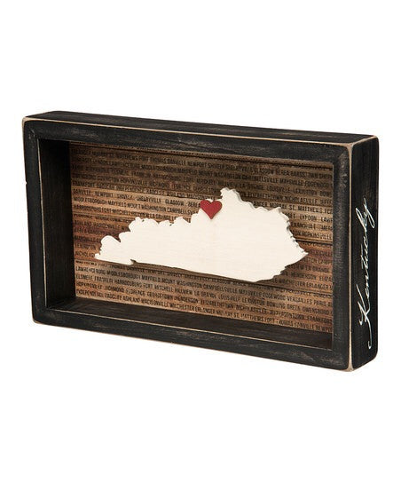 Kentucky Box Sign