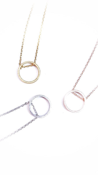 Circle of Life Necklace--3 Colors