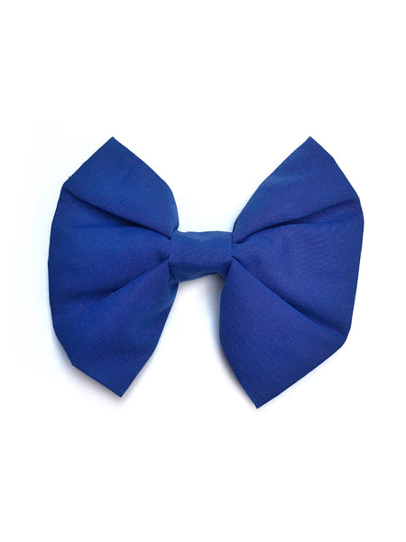Royal Blue Dog Bow/Bowtie