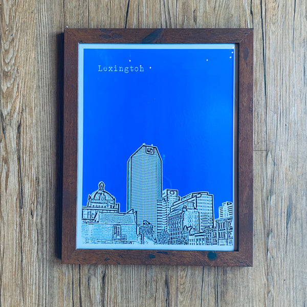 Lexington Skyline Print - 2 Sizes