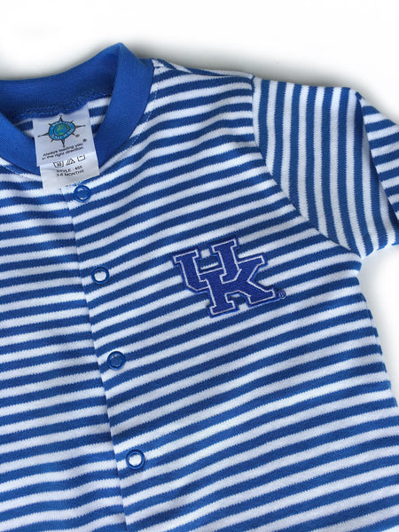 UK Striped Footed Romper - Baby