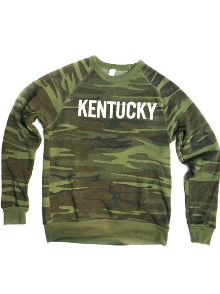 Camo Down Home Crewneck