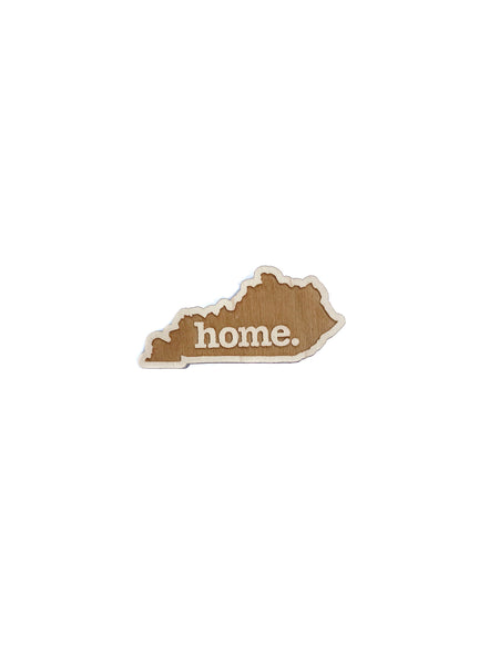 Home. Wooden Magnet