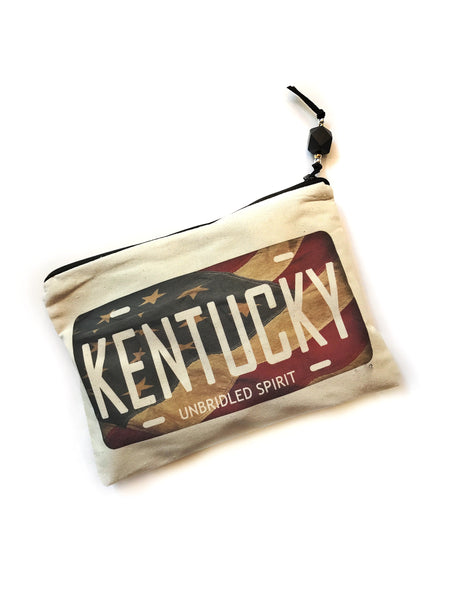 KY License Plate Pouch