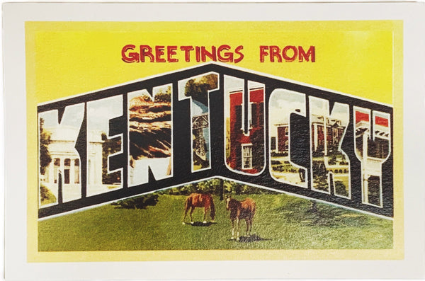 Greetings From Kentucky - Horses