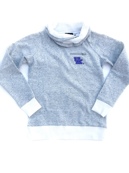 Gameday Cowl Neck Pullover