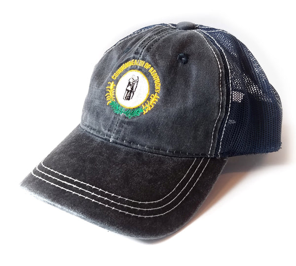 Solid Navy Commonwealth of KY Hat
