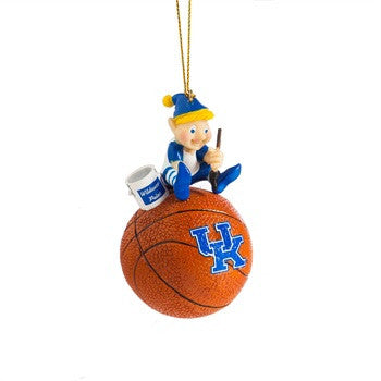 UK Elf Basketball Ornament