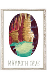 Mammoth Cave Mini Framed Canvas