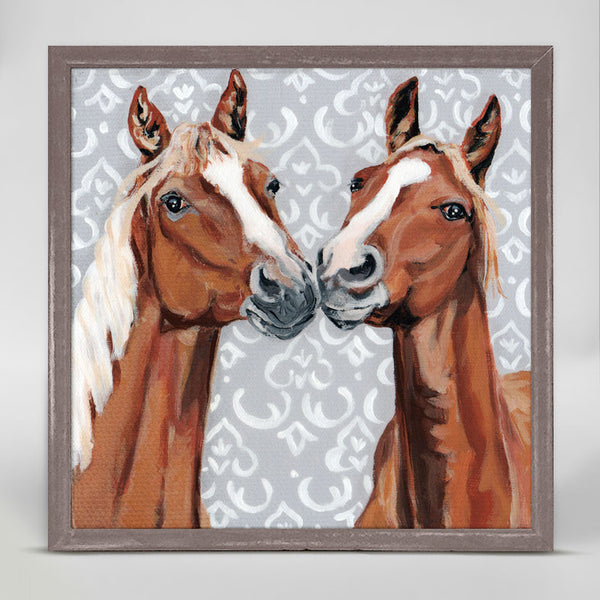Horsey Love Mini Canvas