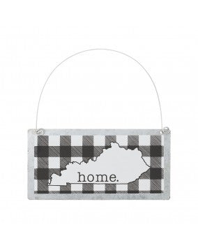 Kentucky B&W Home Ornament