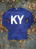 K Y Long Sleeve - Navy