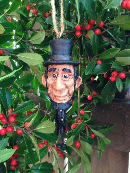 Dangly Abe Lincoln Ornament