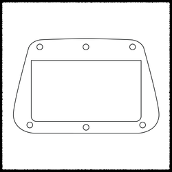 Electric XII Bridge Surround Plate
