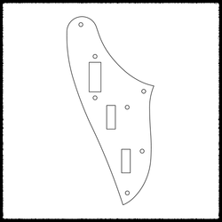 Marauder Standard Rhythm Circuit Plate (Rocker Switch)