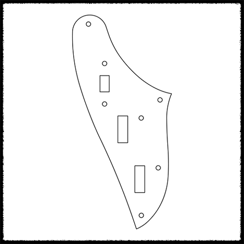 Marauder Standard Rhythm Circuit Plate (Slide Switch)