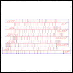 Fret Slotting Templates