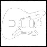 Jagstang Done Right Guitar Routing Templates