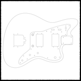 Jazzblaster Guitar Routing Templates