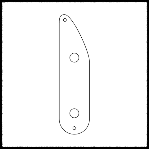 Precision/Tele Bass Style Control Plate