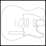 Telecaster Guitar Routing Templates