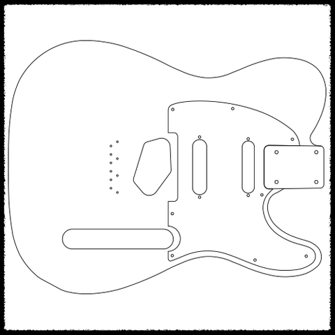 telecaster guitar routing templates faction guitars