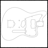 Telemaster (Strat Heel) Guitar Routing Templates