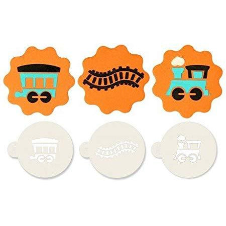 Jem Train Stencils Set of 3