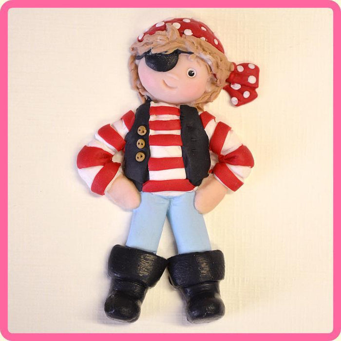 Katy Sue - Pirate Sugar Buttons Silicone Mould