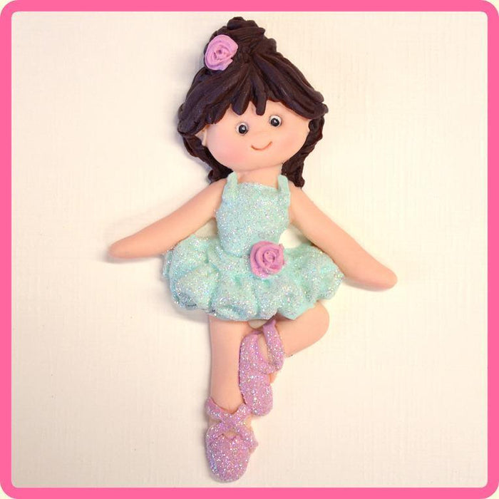 Katy Sue - Ballerina Sugar Buttons Silicone Mould