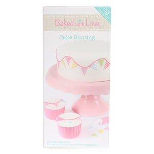 Baked With Love Cake Bunting With Icing Tube