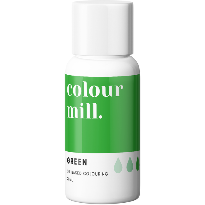 Colour Mill - Oil Based Colouring Green - 20ml