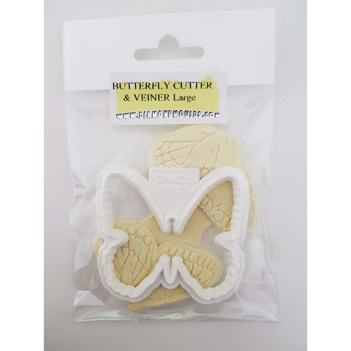 Butterfly veiner and cutter large by Diamond Moulds