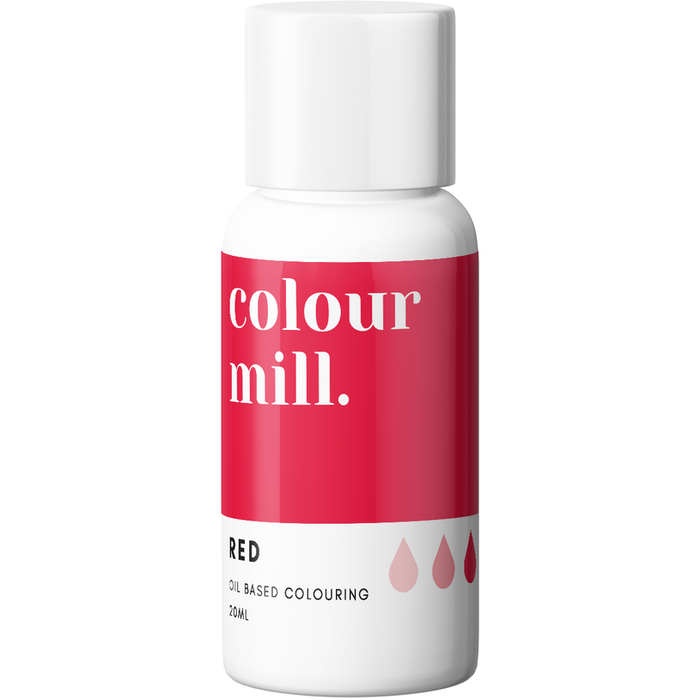 Colour Mill - Oil Based Colouring Red - 20ml