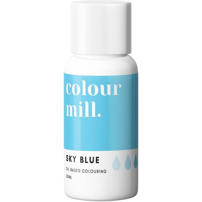 Colour Mill - Oil Based Colouring Sky Blue - 20ml