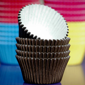 Cupcake Cases Brown