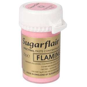 Sugarflair Flamingo Pink