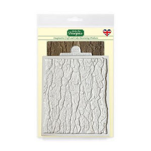 Continuous Tree Bark silicone Mould - Katy Sue Designs