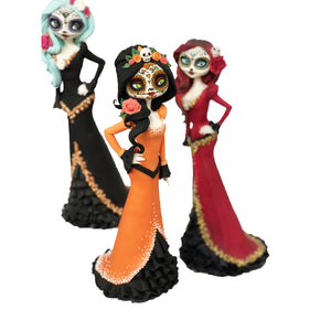 Day of the Dead Figurine modelling class, Leeds