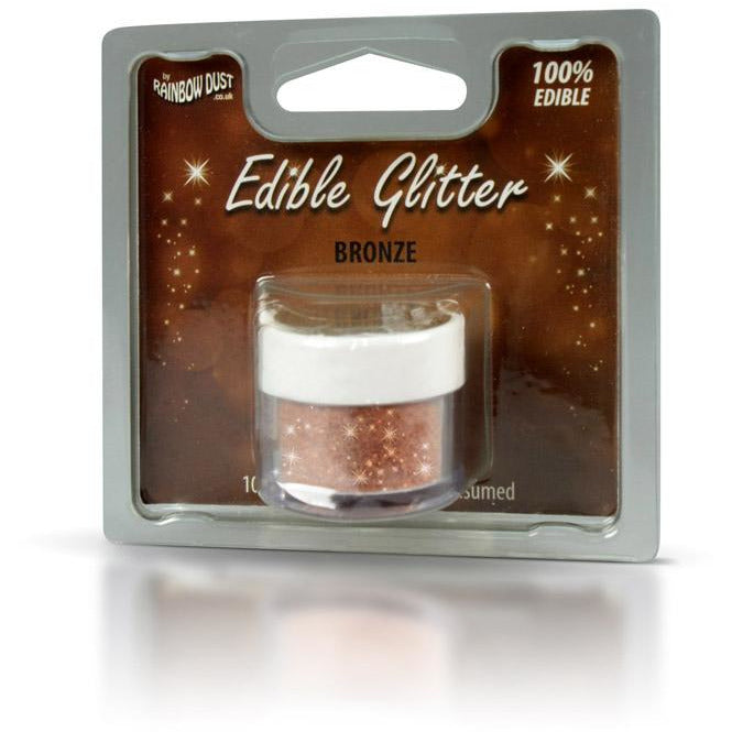 Rainbow Dust Edible Glitter Bronze