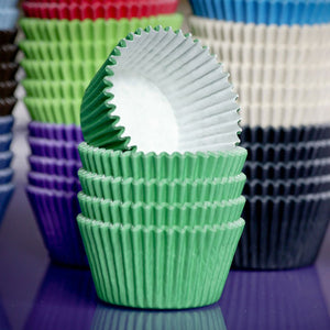 Cupcake Cases Green