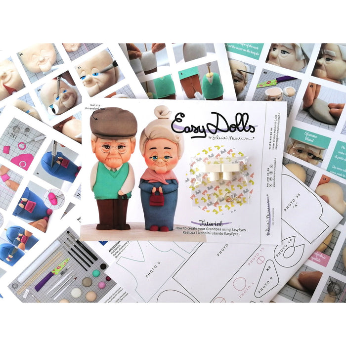 Silvia Mancini - Easy Dolls Grandparents