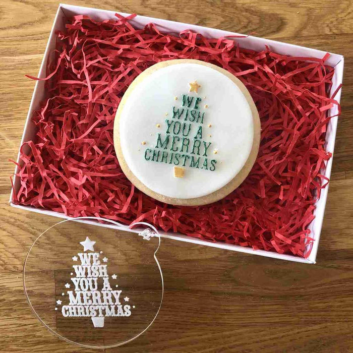 Lissie Lou - We Wish You A Merry Christmas Cookie Embosser