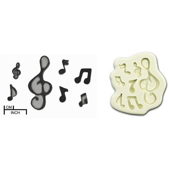 Musical Notes Mould