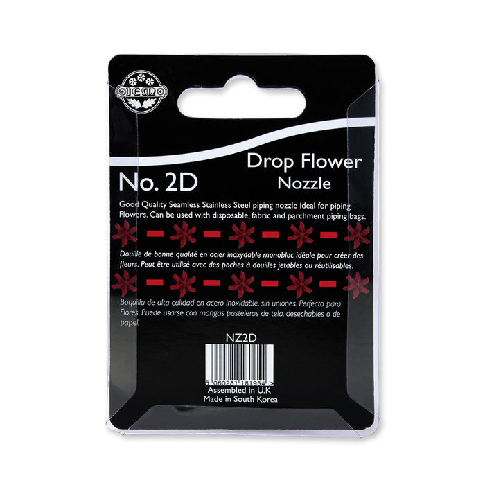 Jem Piping Nozzle Drop Flower 2D