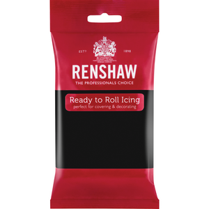 Jet Black Renshaws Ready To Roll 250g