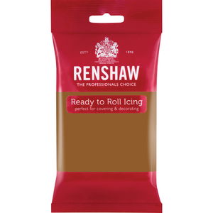 Renshaw Ready To Roll Teddy Bear Brown 250g